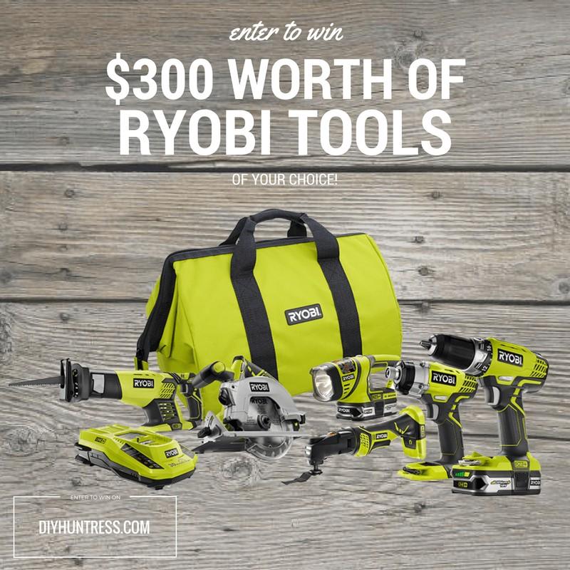 ryobi tools giveaway