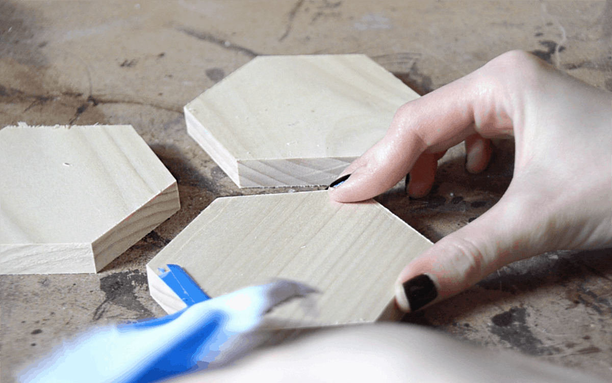 how to cut coasters wood