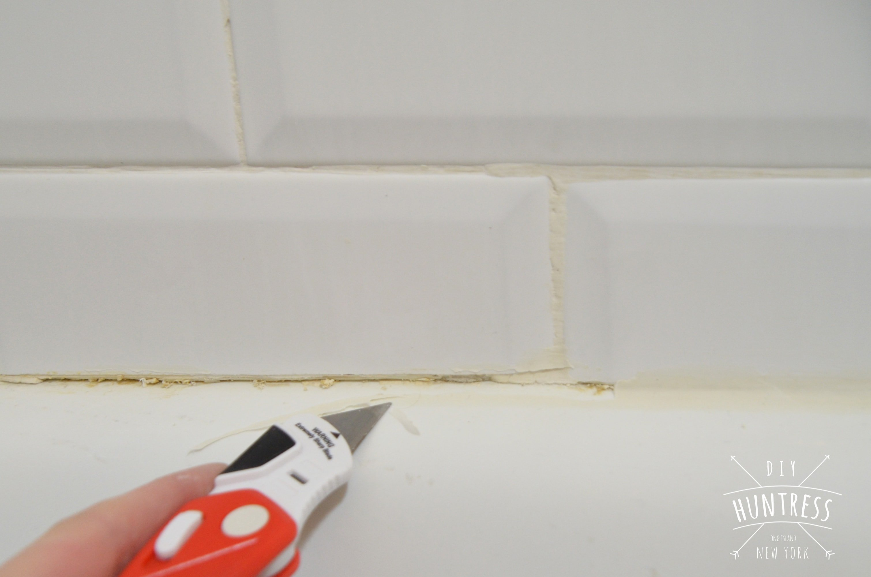 how to fix grout in shower