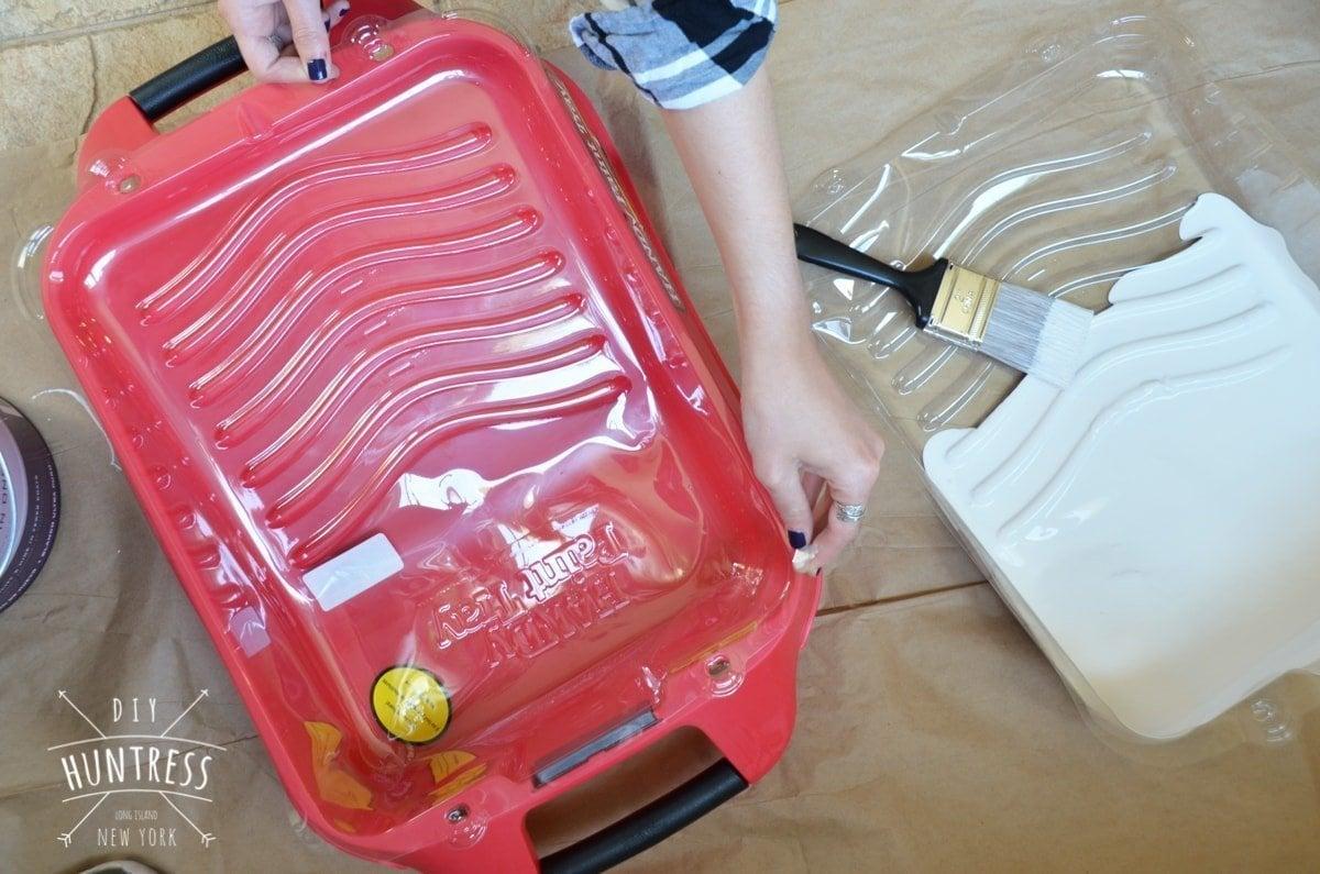 handy paint pail tray