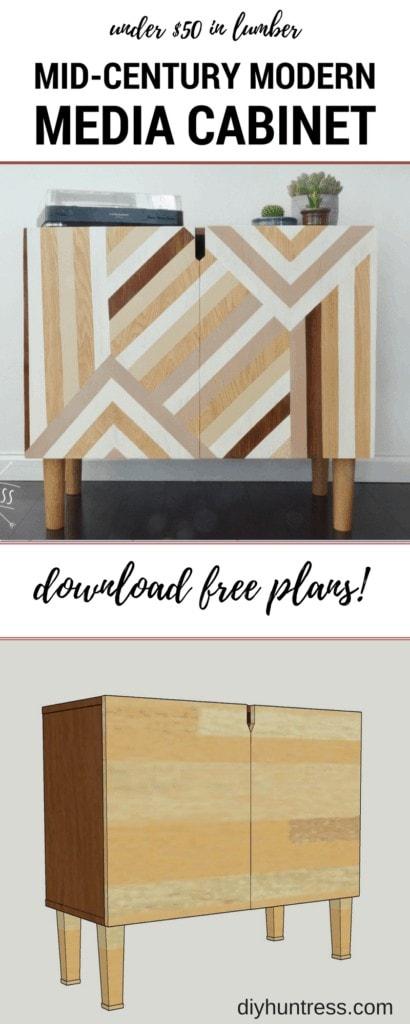 wooden tv stand pinterest