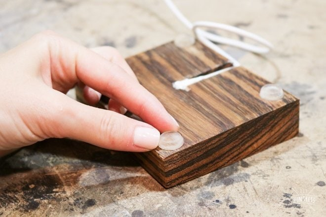woodworking iphone docking station