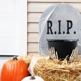 DIY Tombstone Candy Holder