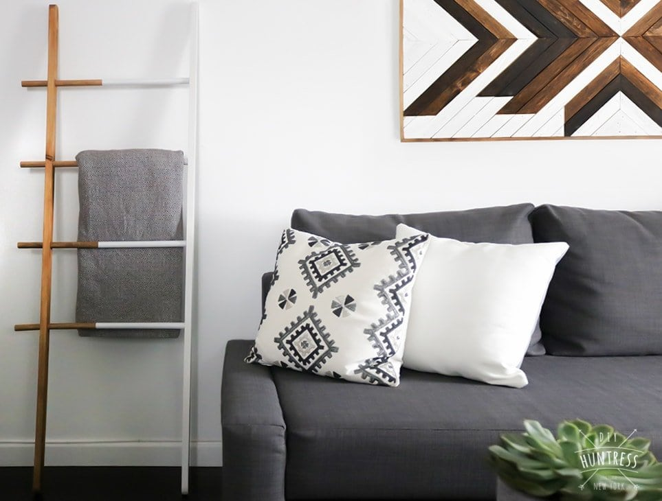 west elm diy blanket ladder