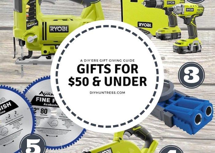 diy gifts under $50