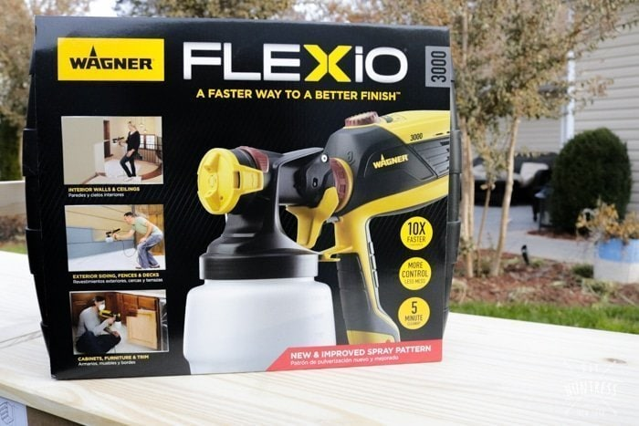 wagner flexio spray gun