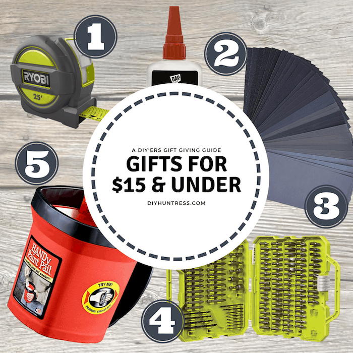 gifts under $15 for homeowners