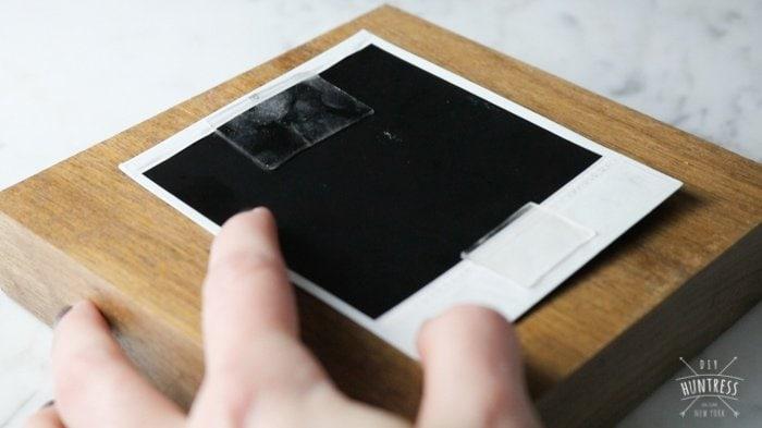 DIY Floating Frame