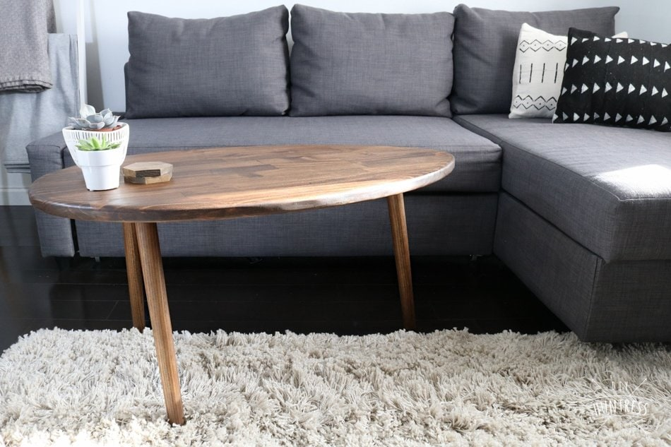 diy oval table