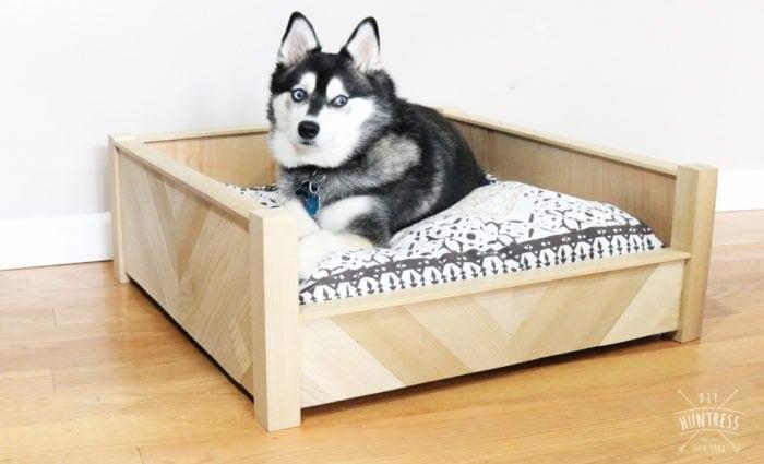 pinterest dog bed