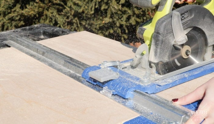 how to cut plywood without table saw