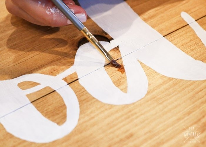 how to make a stencil without a machine