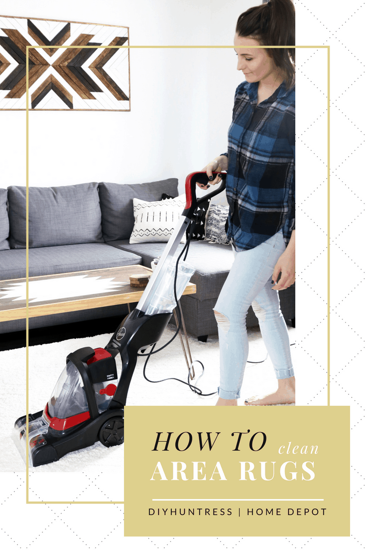 how to steam clean your rug