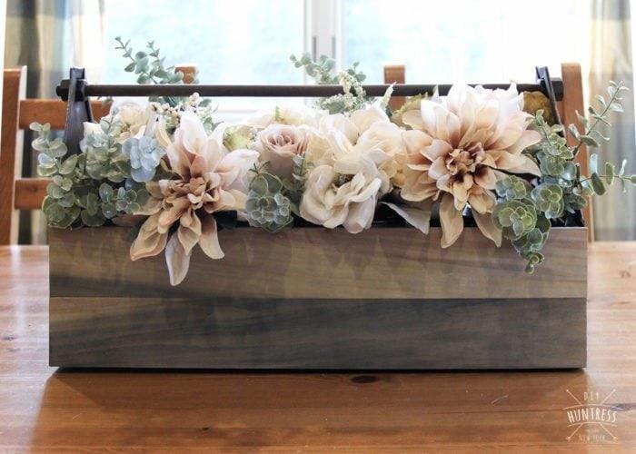 barnwood centerpiece