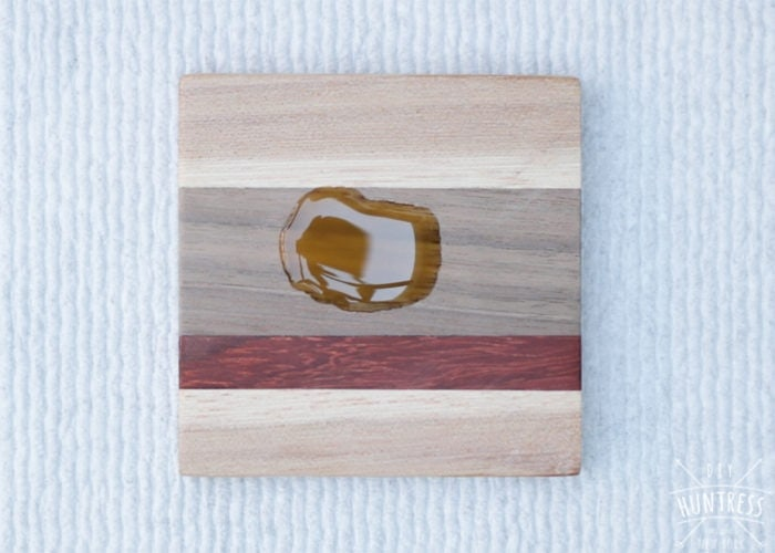 how to finish wood coasters