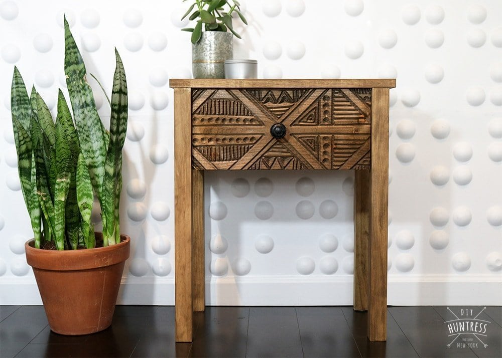 how to make a bohemian side table