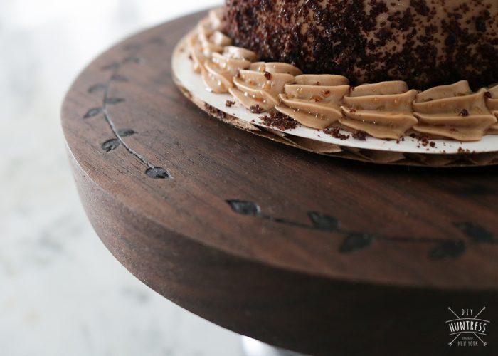 custom engraved cake stane