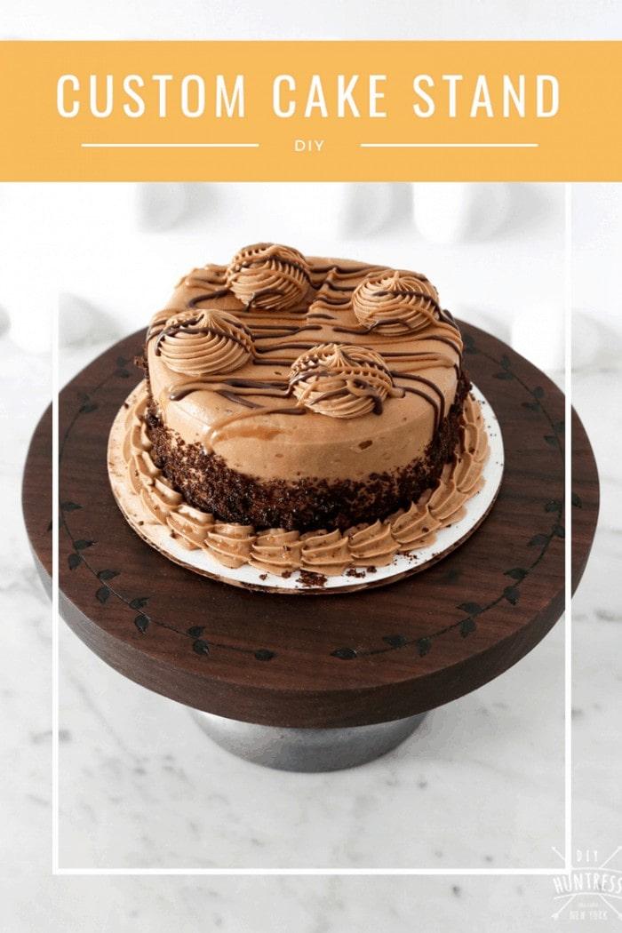 How to make a custom cake stand