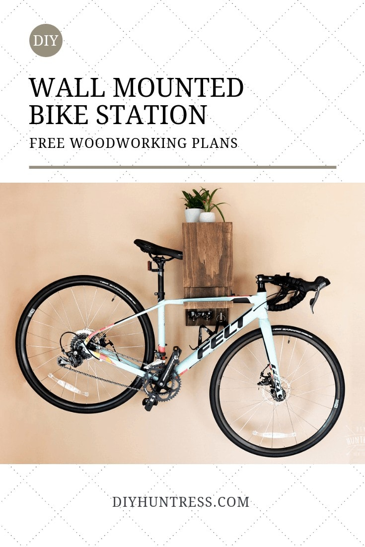 pinterest bike rack
