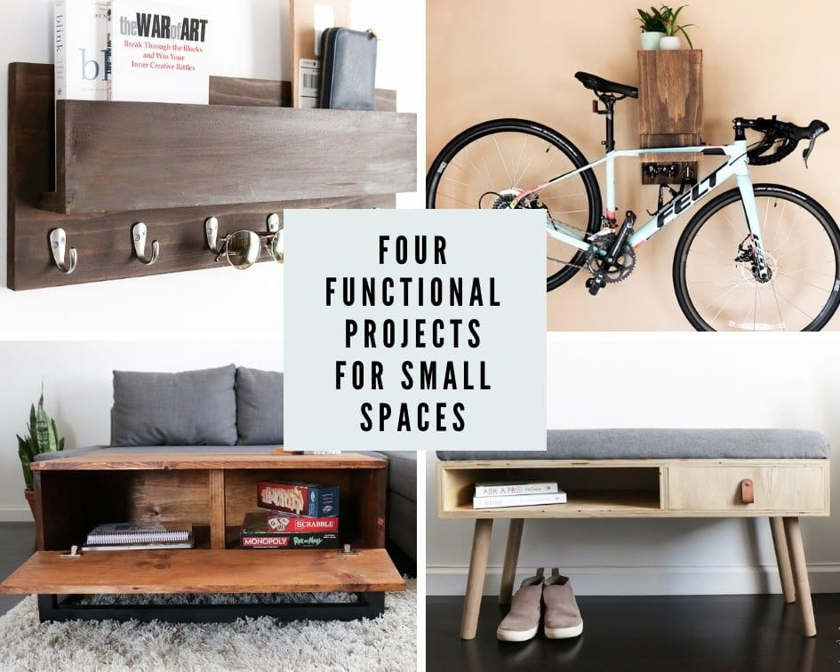 Functional Projects For Small Living Spaces