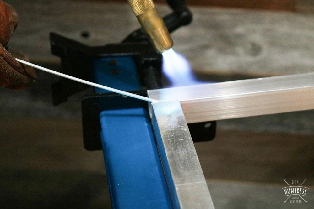 how to braze aluminum