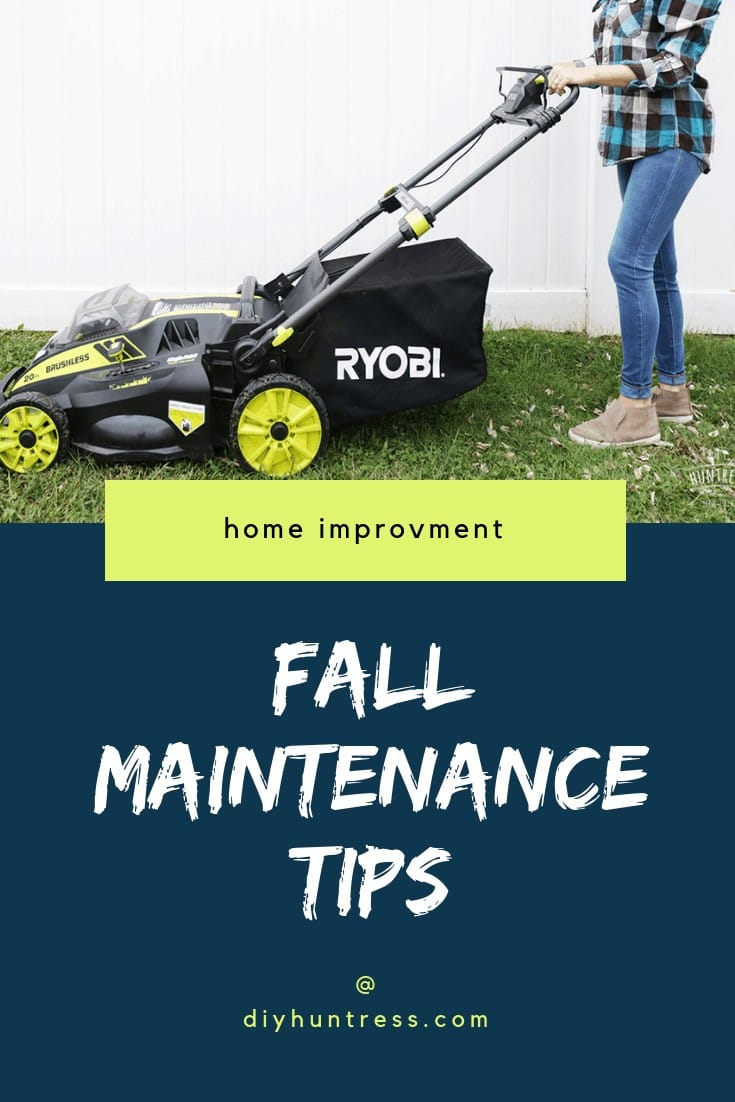 End Of Summer Yard Work Ideas