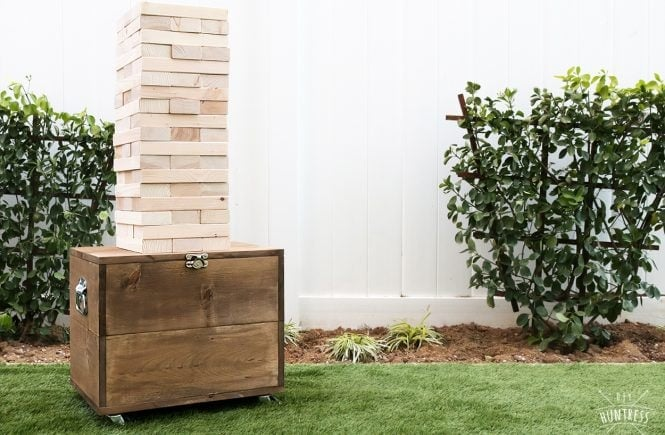 giant yard jenga for backyard