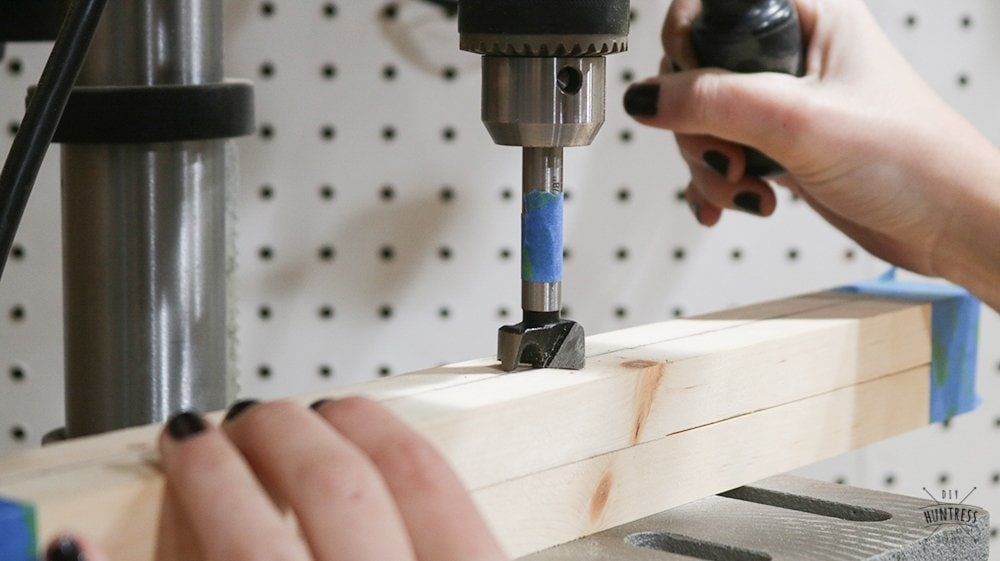how to drill perfect holes in wood