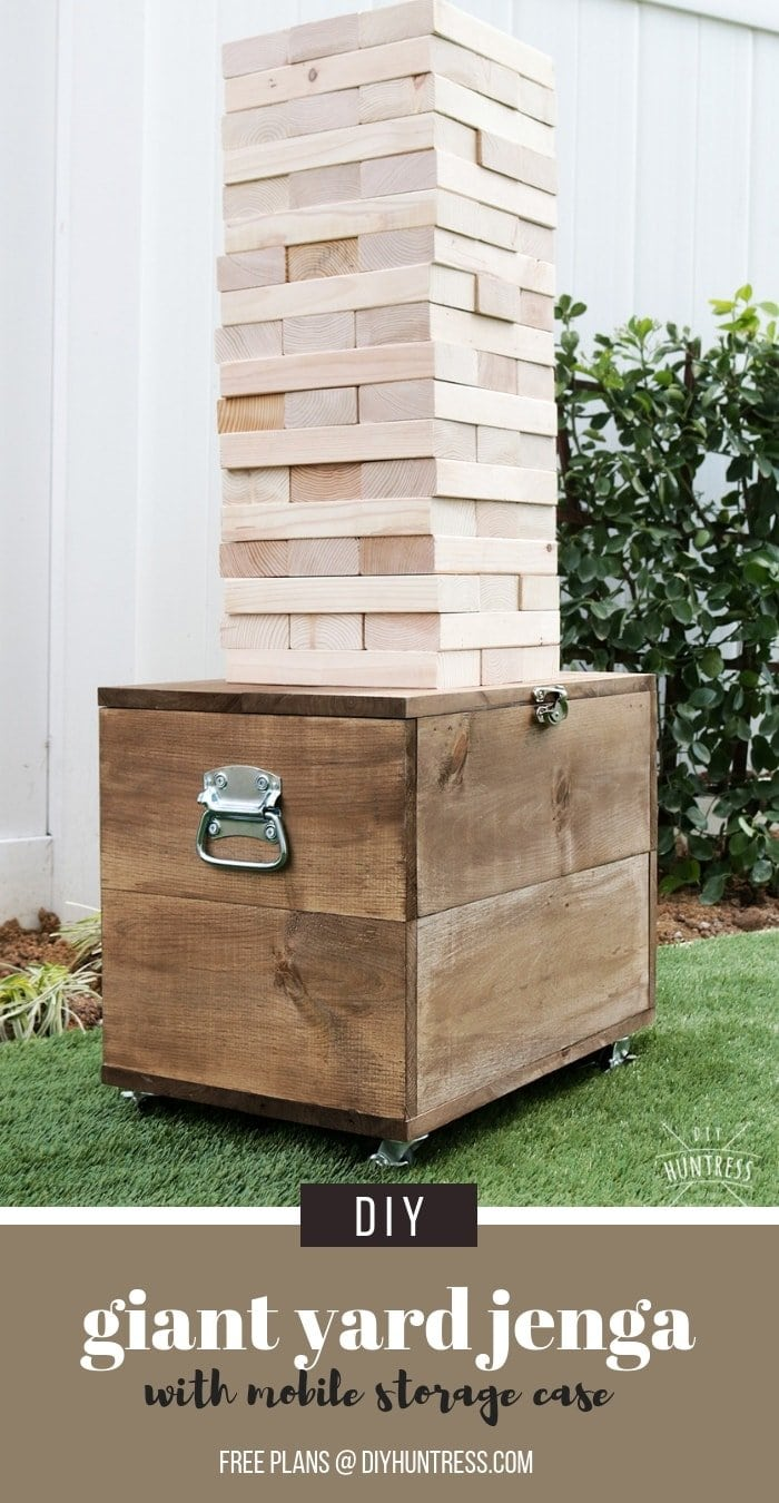 Pinterest Giant Jenga With Storage Case