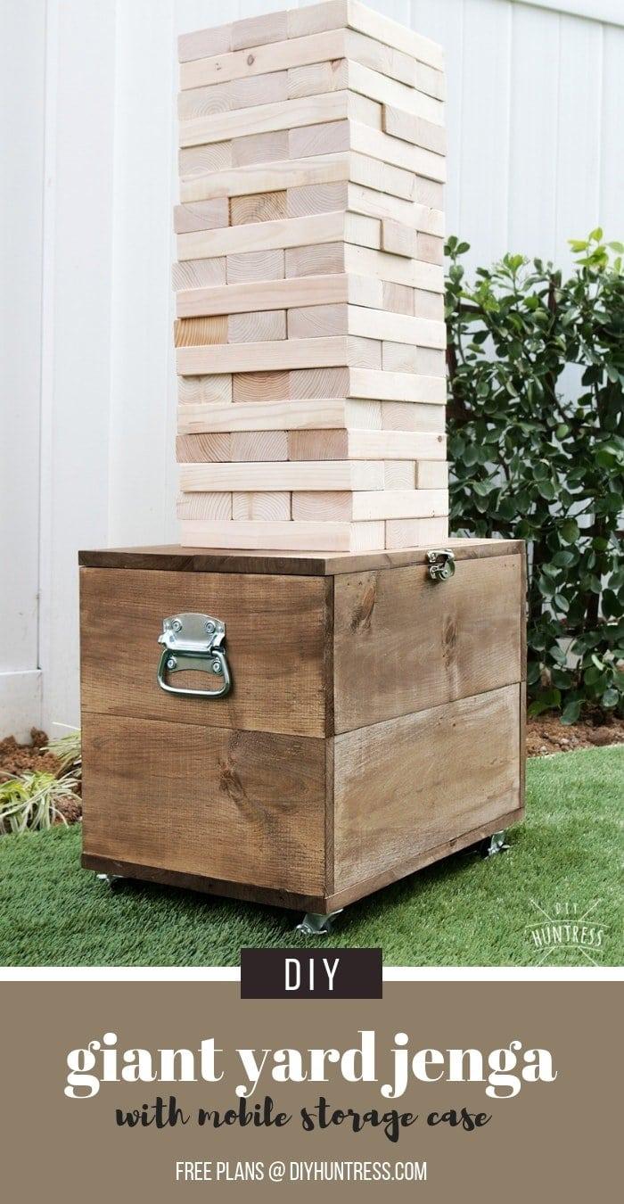 Pinterest Giant Jenga With Storage Case