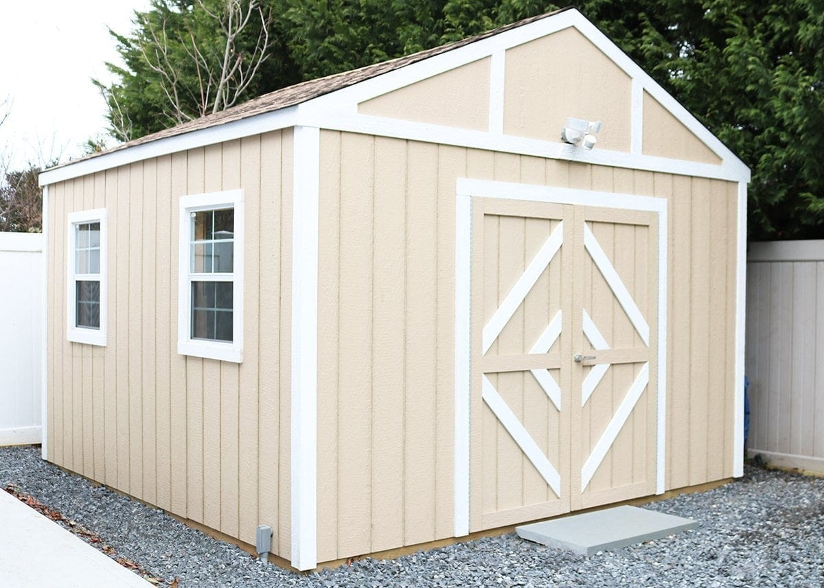 Shed-Shop Series: How To Build A Shed & Turn It Into A Workshop