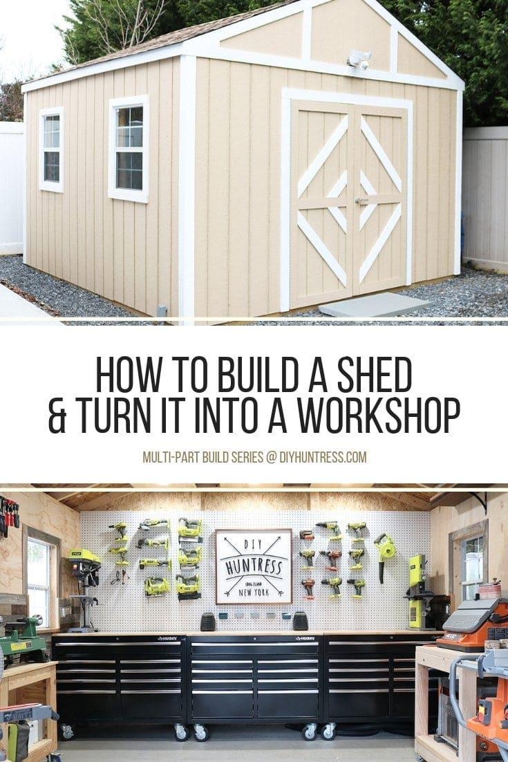 #DIY #Shed #Workshop