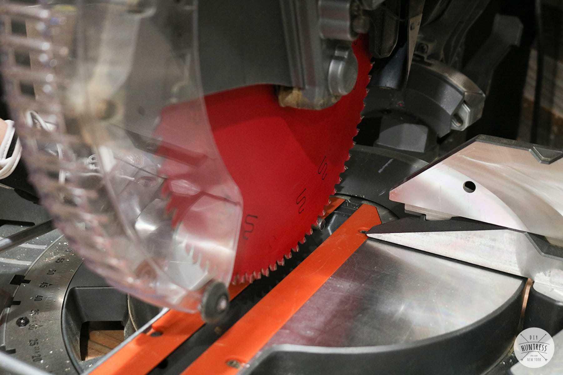 how to cut aluminum tubing