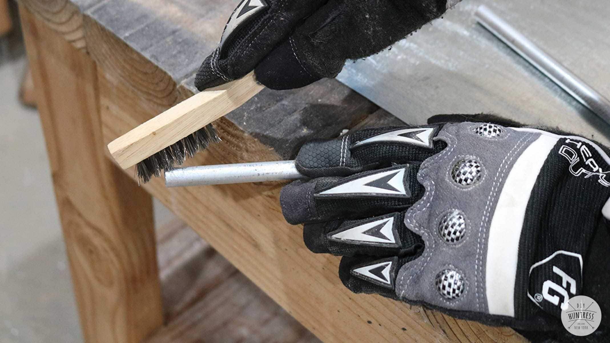 how to prep aluminum