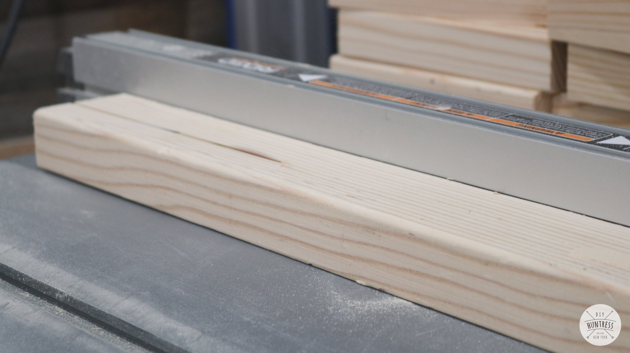 how to mill wood on table saw