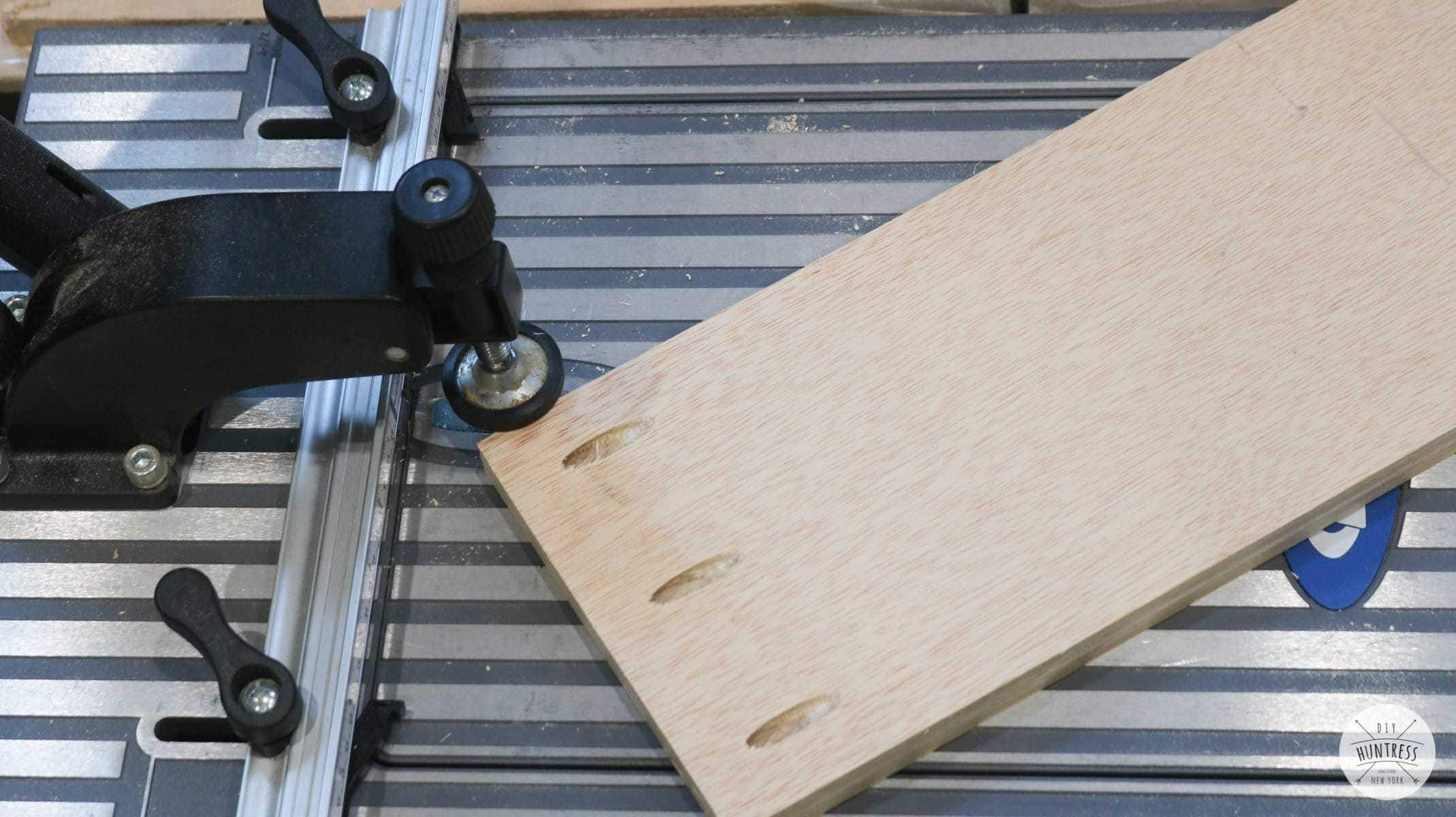 kreg foreman pocket holes plywood