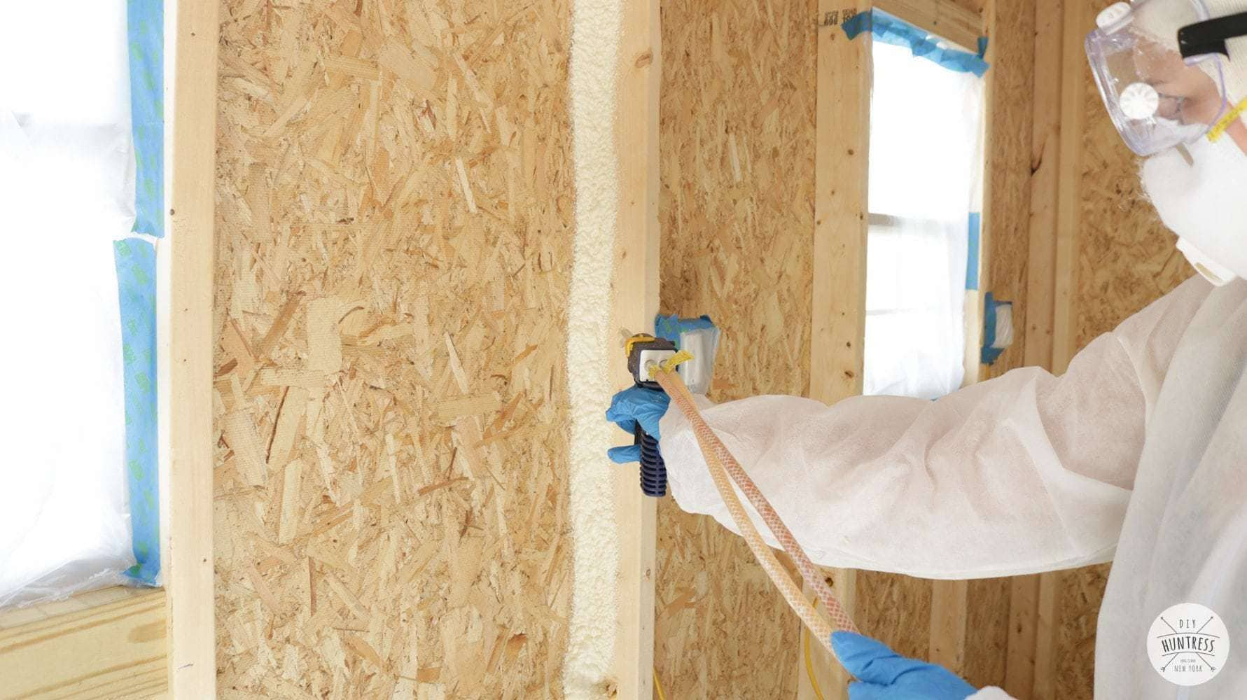 diy spray insulation
