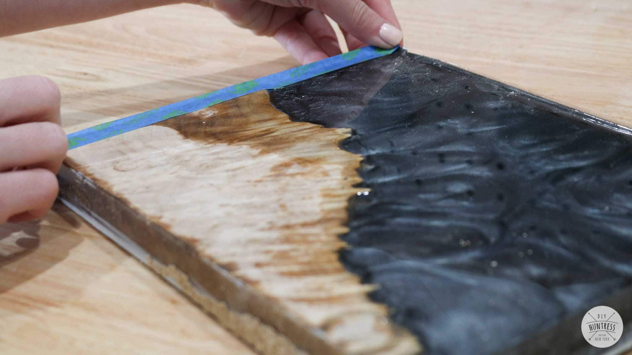 how to cut epoxy resin