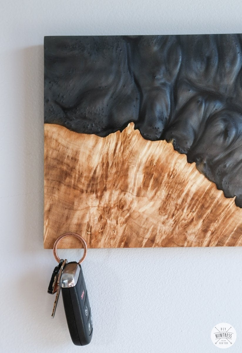 resin and wood art