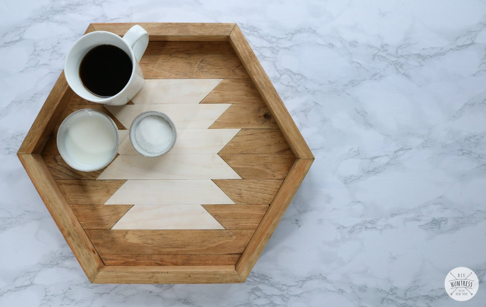 how to make a wooden serving tray