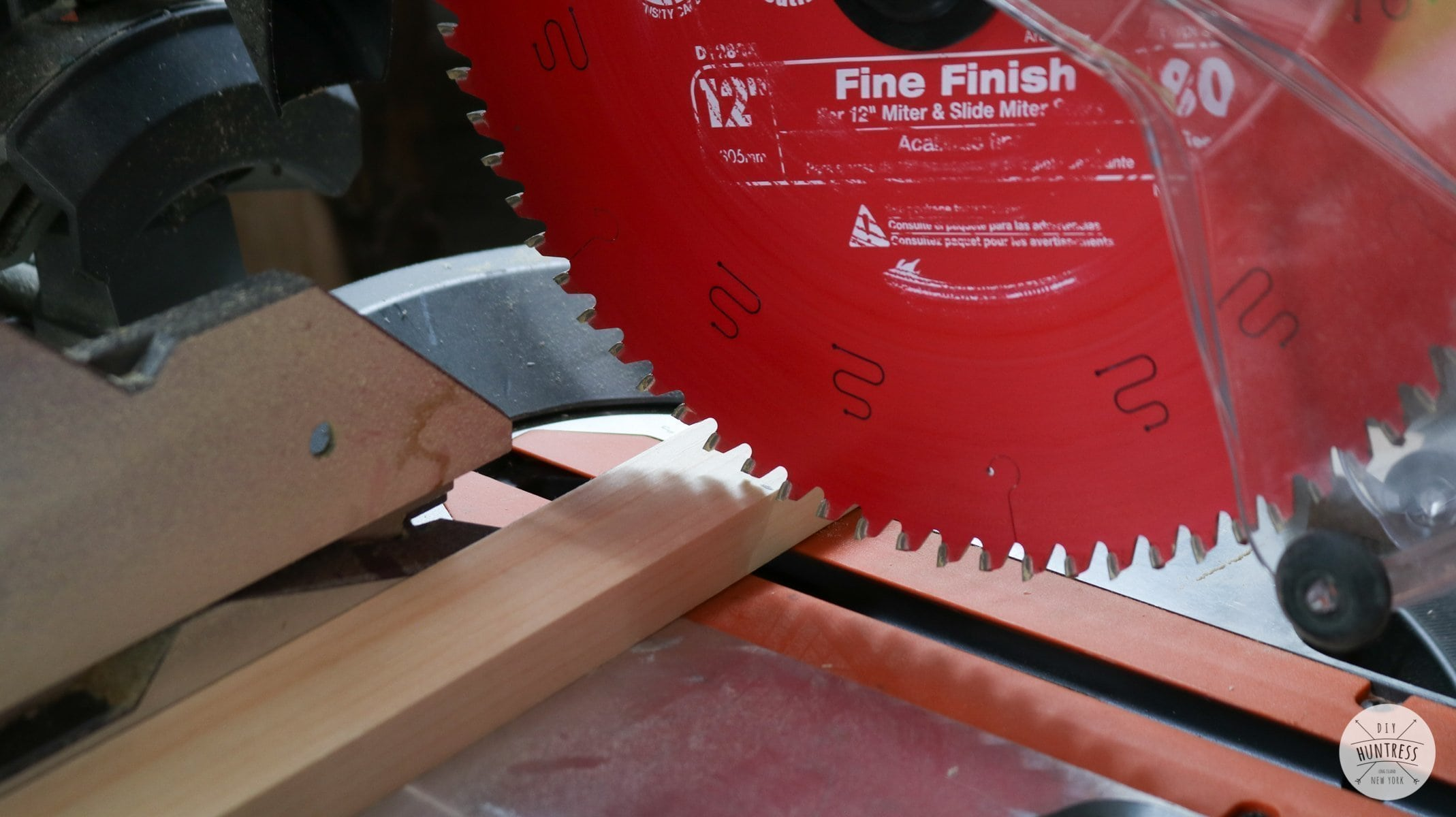 how to cut wood trim