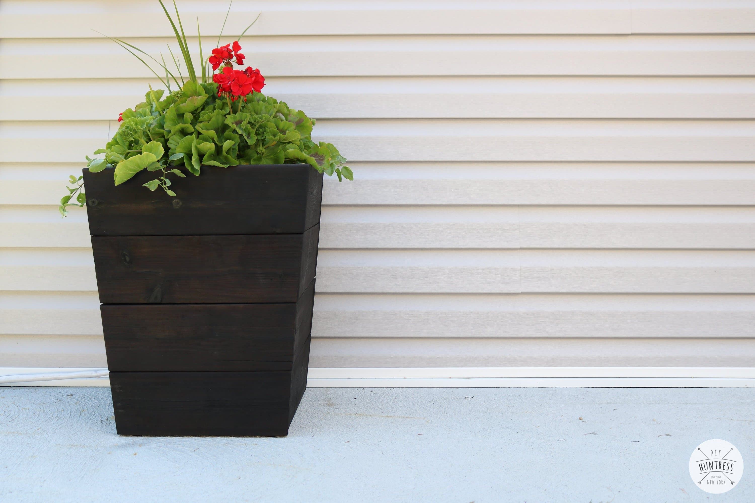 diy tapered planter