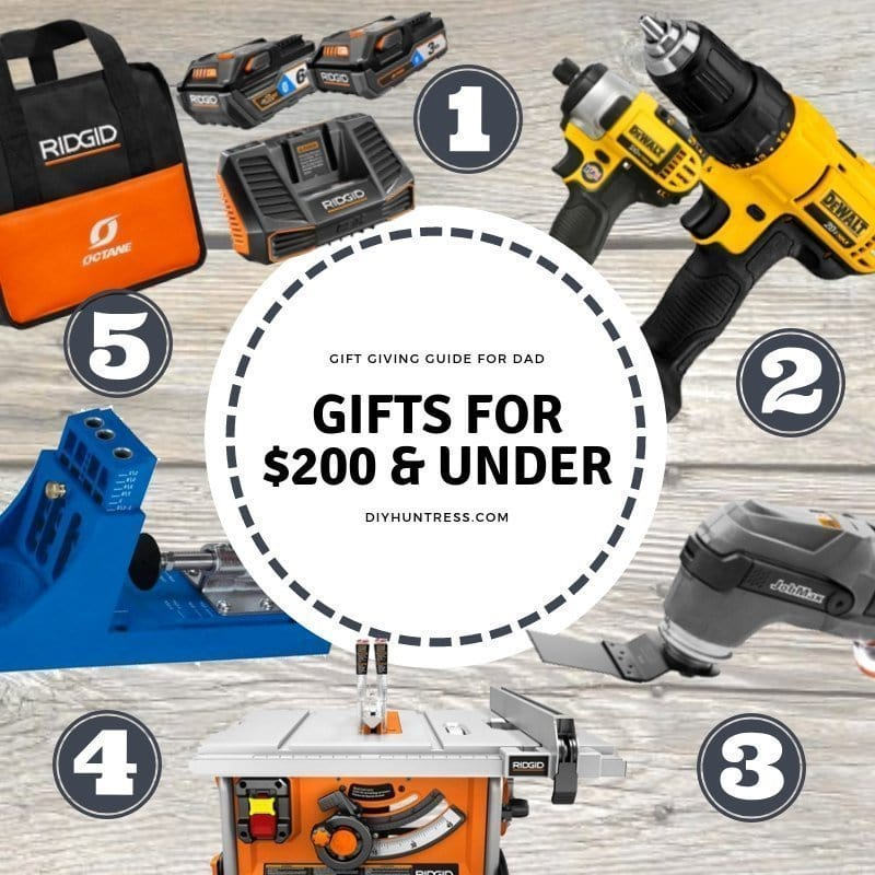 Father's Day Gift Giving Guide Under $200