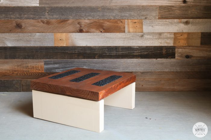 scrap wood step stool