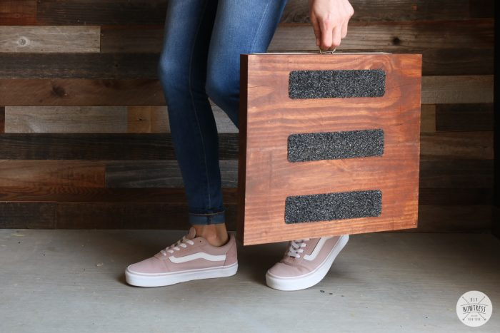 simple folding step stool