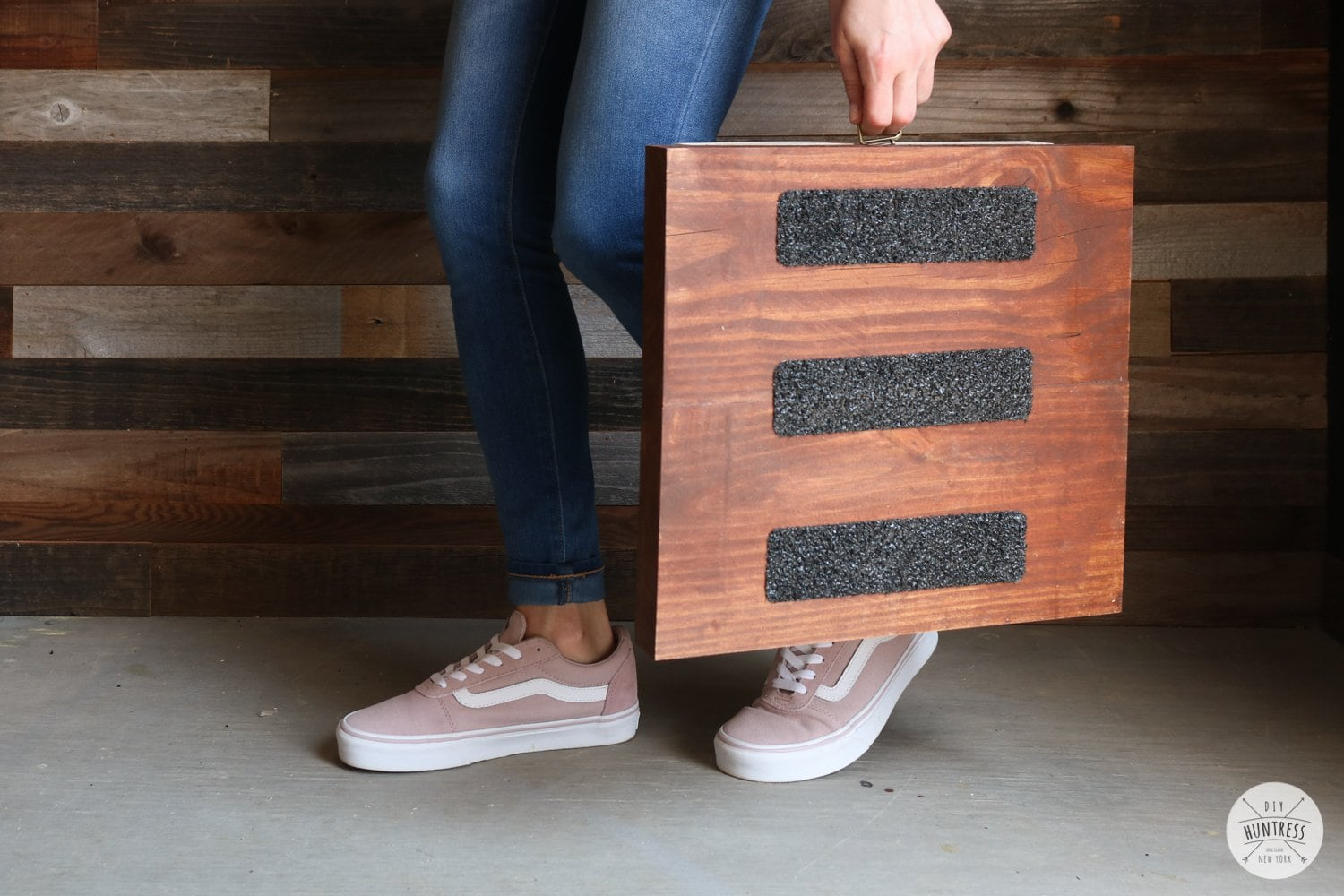 Diy Folding Step Stool Diy Huntress