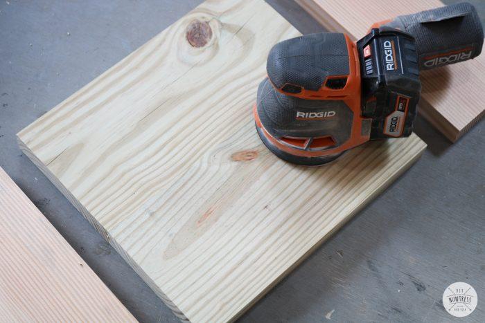 sanding boards