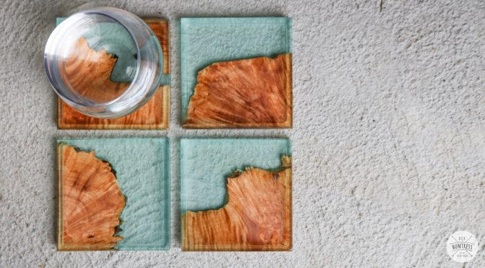 diy resin and wood coasters