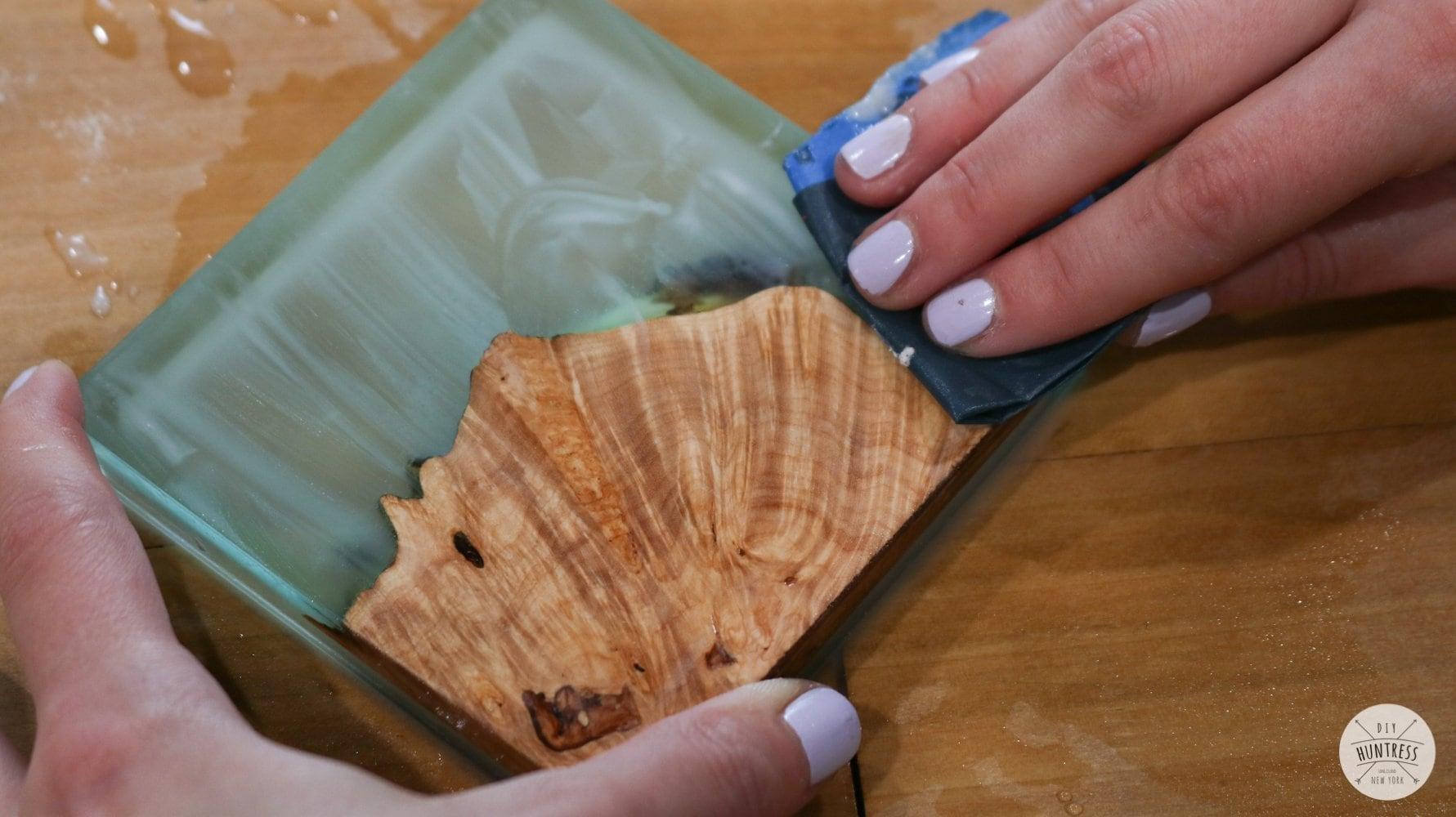 Diy Resin Wood Coasters 9 Diy Huntress
