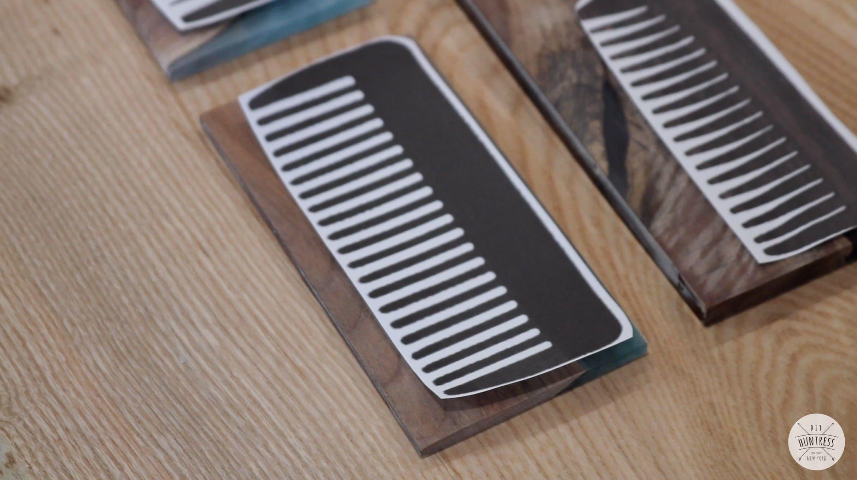 DIY Resin And Wood Combs - DIY Huntress